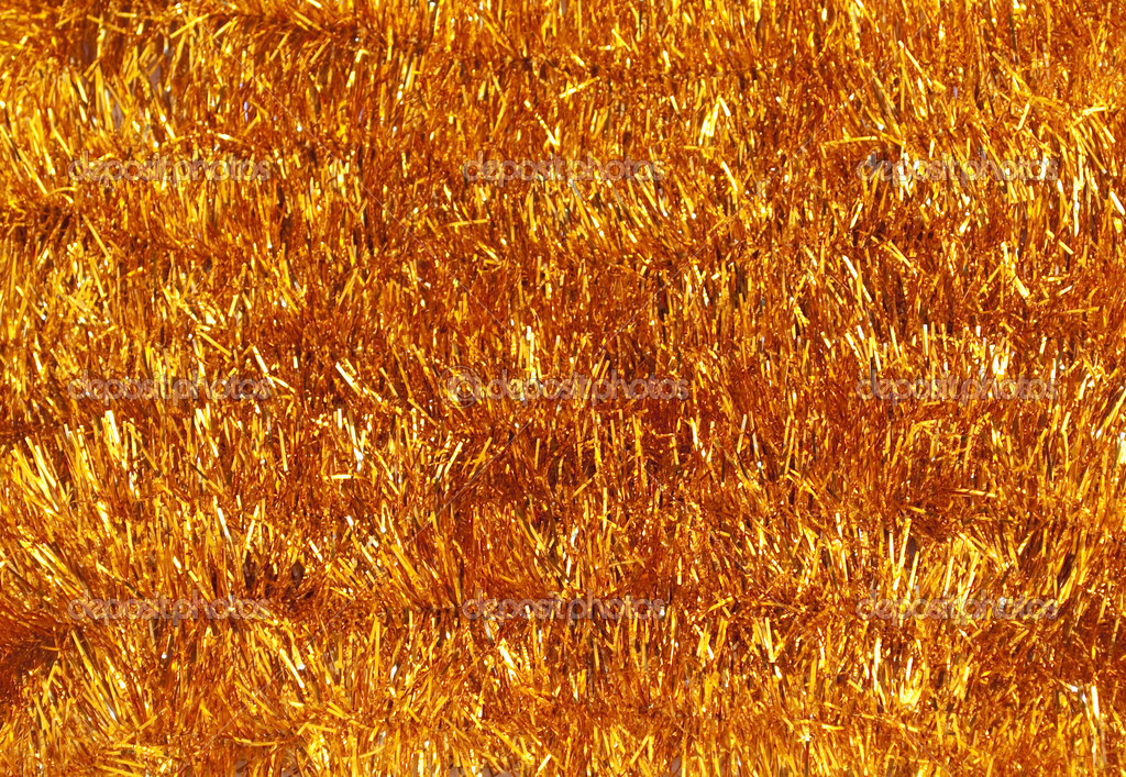 Background of shiny tinsel Christmas  Stockfoto #1517600