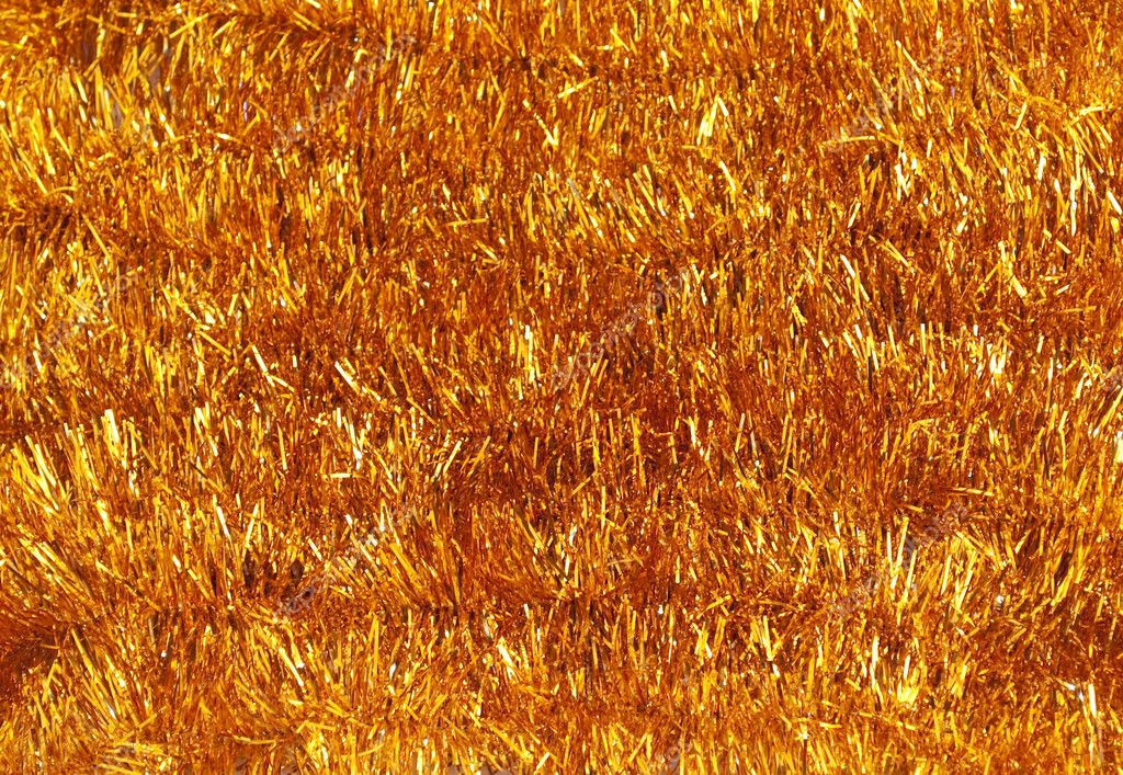 Background of shiny tinsel Christmas  Foto de Stock   #1517600