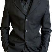 предпринимателя черный пиджак — Стоковое фото