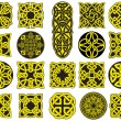 Full Celtic Knots - Stok Vektr