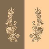 Brown Golden Background 2 — Stock Vector