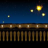 Hindu festival diwali — Stock Photo