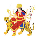 Goddess durga — Stock Photo