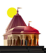 Temple, place of worship, religion — Stock Photo