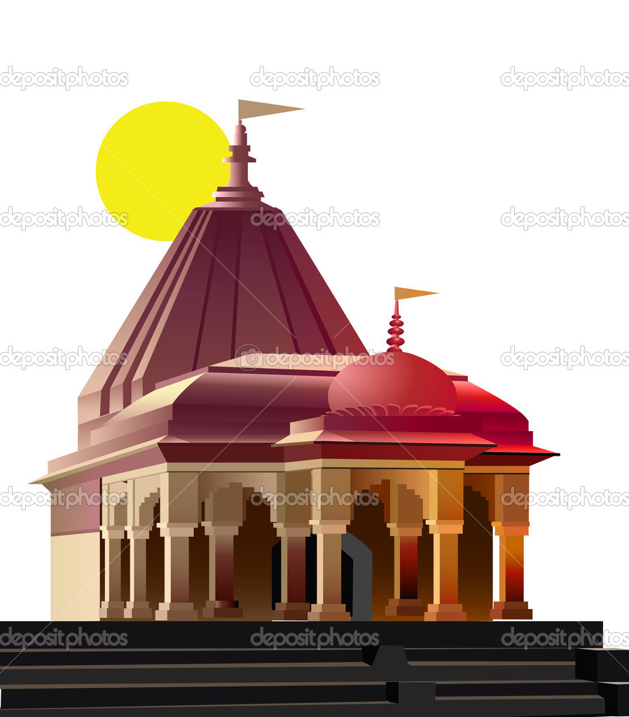 View of temple, place of worship, religion — Stock Photo #1411768