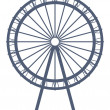 Ferry wheel — Stock Photo