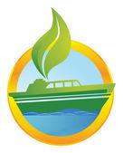 Ecological transport — Stock Photo