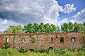 Ruins of an old building — Stock Photo