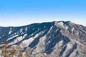 Peak of mountain. Winter in Altay. — Stock Photo