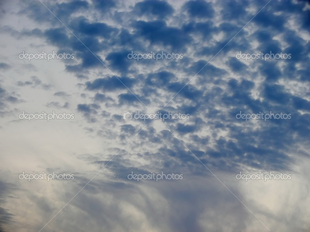 Blue clouds — Stock Photo #1291451