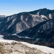 Peak of mountain. Winter in Altay. — Stock Photo #1301295