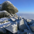 Stones at top of mountain — Stock Photo #1301352
