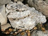 Natural white marble — Stock Photo