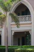 Courtyard of Emirates Palace. Arch — Stock Photo