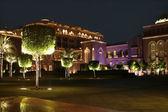 Emirates Palace in the night. Abu Dhabi — Stock Photo