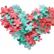 Flower heart — Foto de Stock
