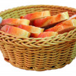 Bread in basket — Stock Photo #2568223