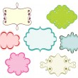 Vintage cartoon frames - Stock Vector