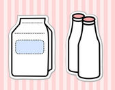 Milk products — Stock Vector