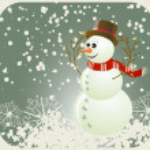 Snowman — Stock Vector #1539402