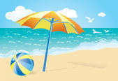 Summer background — Vector de stock