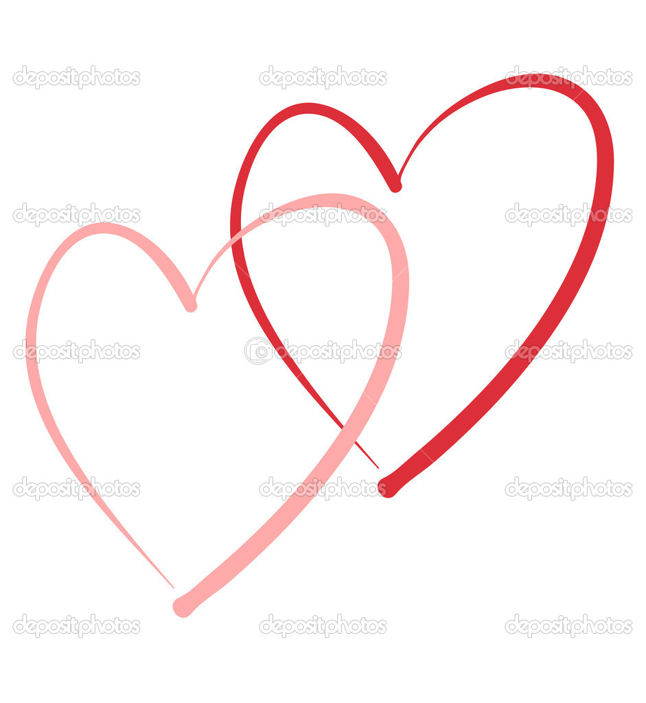 Stylized simple drawing of heart — Stock Vector #2001383