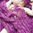 Sleeping baby girl — Stock Photo #1368962