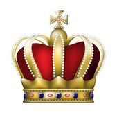 A coroa — Vetorial Stock