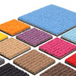 Carpet coverings — Foto de Stock
