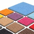 Carpet coverings - Stock Photo