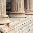 Old antique columns — Stock Photo