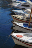 Boats at moorage — Stock Photo