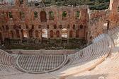 Ruins of ancient amphitheatre — Stock Photo