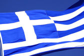 The flag of Greece — Stock Photo