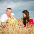 Family outdoor — Stock Photo #1303541