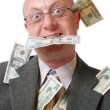 Men with money - Stock Photo