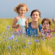 Family outdoor — Stock Photo #1308354