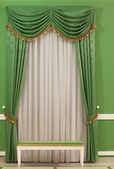 Green interior — Stock Photo