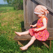 Stock Photo: Child outdoor