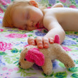 Sleeping child — Stock Photo