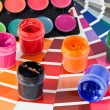 Palette and paints — Stock Photo #1321942