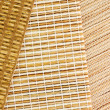 Samples of blinds from gunny - Stock Photo