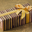 Royalty-Free Stock Photo: Gift for the holiday