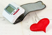 Arterial pressure — Stock Photo