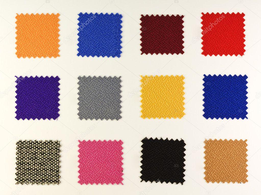 Рисунок кусочками ткани
