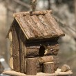 Stock Photo: Hut for birds