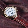 Chronograph watches are on the fabric — Stockfoto