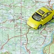 Stock Photo: Car travel