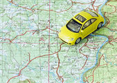 Car travel — Stock Photo