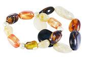 Bracelets made of stone — Stock Photo